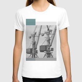 Working giraffe T-shirt