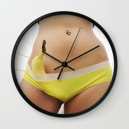 The Banana Wall Clock