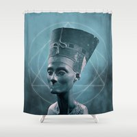floyd Shower Curtains featuring Things left unsaid : Pink Floyd by s c h t