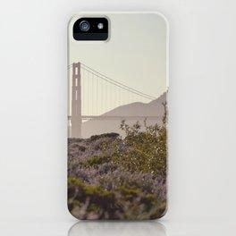 Glowy Golden Gate iPhone Case