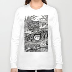 Two Worlds Long Sleeve T-shirt