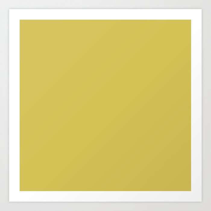 Simply Mod Yellow Kunstdrucke