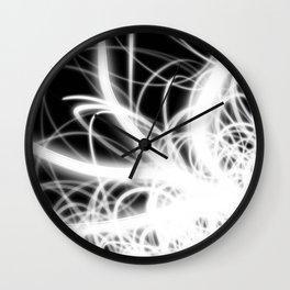 Complex Light Flow Wall Clock