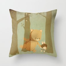 Oso Follow Me Throw Pillow