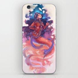 iPersian mermaid princes iPhone Skin
