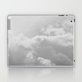Heavenly in black and white Laptop & iPad Skin