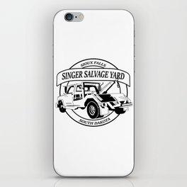 Singer Salvage iPhone Skin