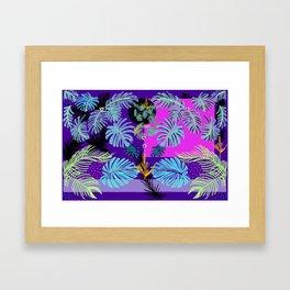 Tropical Boho Living Framed Art Print