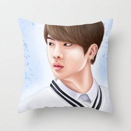 BTS - Jin Throw Pillow