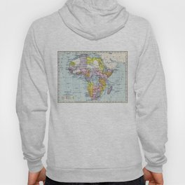 Vintage Map of Africa (1897) Hoody
