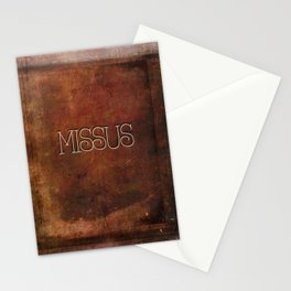 MISSUS Stationery Cards