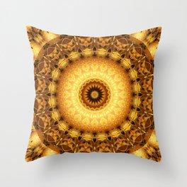 Mandala Star dust 2 Throw Pillow