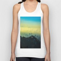los angeles Tank Tops featuring Los Angeles by Sbnumb3