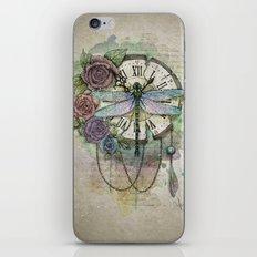 Time flies iPhone & iPod Skin