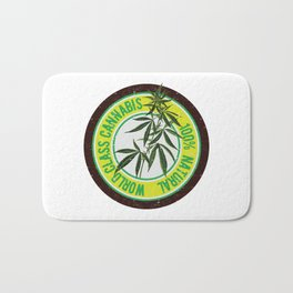 World Class Cannabis Bath Mat