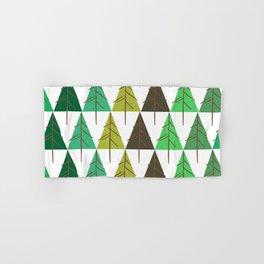 Seamless pattern. Christmas tree. Hand & Bath Towel