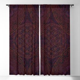Mandala Nirvana Spiritual Zen Bohemian Hippie Yoga Mantra Meditation Blackout Curtain