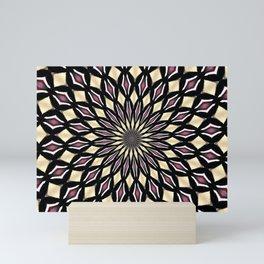 PURPLE PETALS Mini Art Print