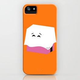 Ghost Liquorice candy, Bonbon fantôme - Halloween party iPhone Case
