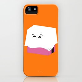 Ghost Liquorice candy, Bonbon fantôme - Halloween party iPhone Case