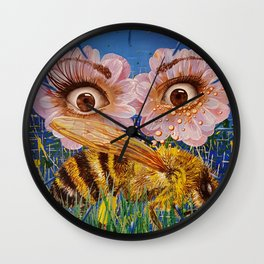Rumors Of Spring Wall Clock