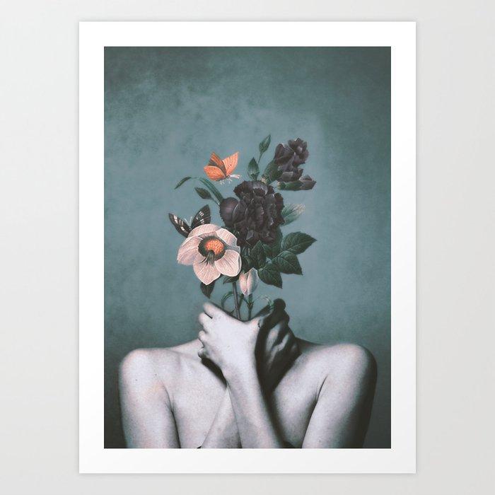 inner garden 3 Art Print