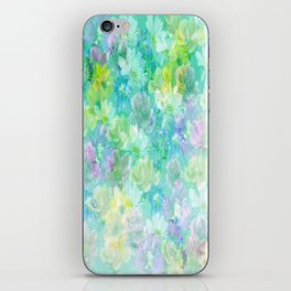 Enchanted Spring Floral Abstract iPhone Skin