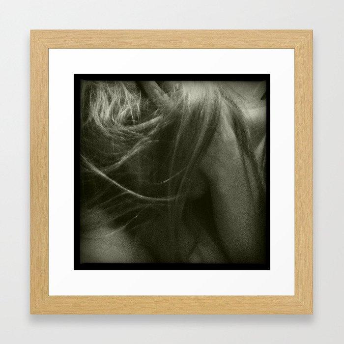 Lucky Man Framed Art Print