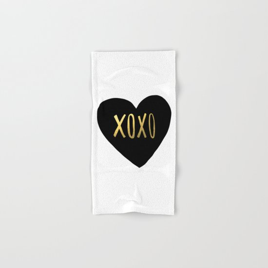 XOXO x Gold Hand & Bath Towel