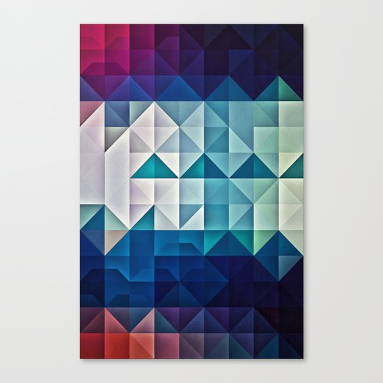 cool palette Canvas Print