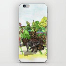 Witchington Gardens iPhone Skin