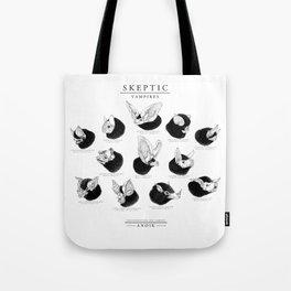 ANOIK Skeptic on Vampires Tote Bag