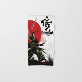 Samurai Warrior Hand & Bath Towel