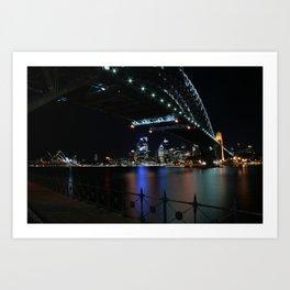 The beloved Sydney Harbour Bridge Art Print