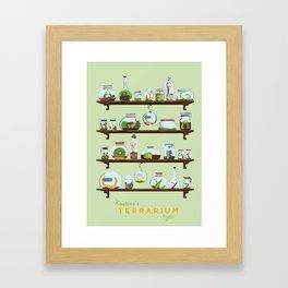 Kristina Terrarium Framed Art Print