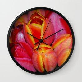 Tulip Beauty Wall Clock