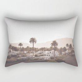 The village Rectangular Pillow