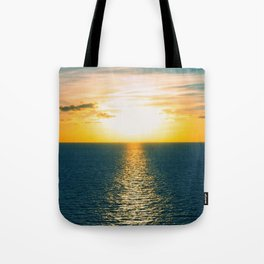 Sunset in July Tote Bag