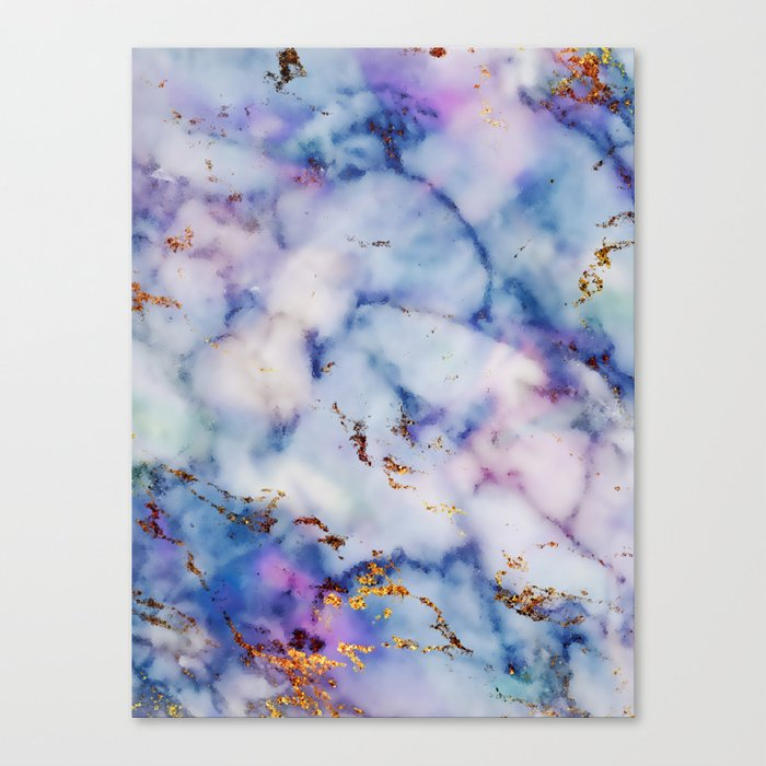 Marble Effect #6 Canvas Print