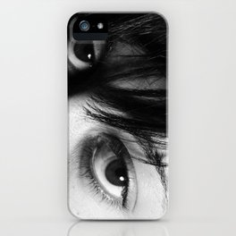 You See Me by Jesse Flora iPhone Case