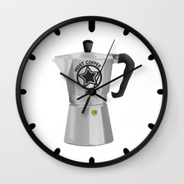 Most Coffee Wins Wall Clock