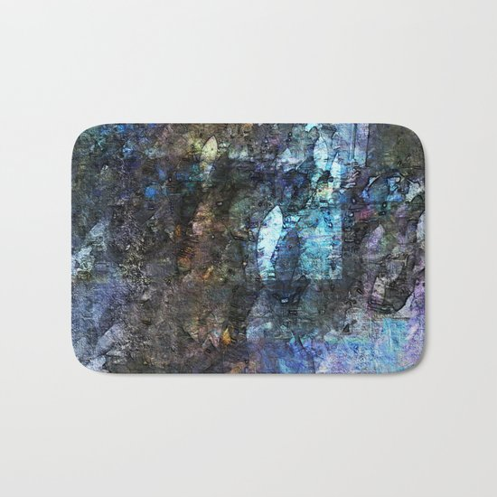 collage 3 -fossil Bath Mat
