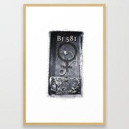BJ 581 Framed Art Print