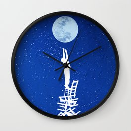 Out of Reach Wall Clock