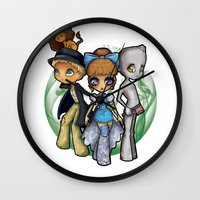 oz Wall Clocks featuring Oz  by Mickey Spectrum
