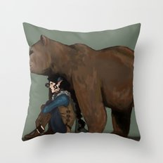 Vex and Trinket Throw Pillow