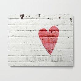 L'amour Metal Print