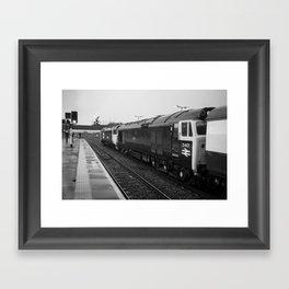 Westbury Logs Framed Art Print