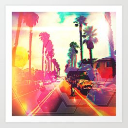 beachTrippy Art Print
