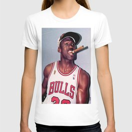 Michael Jorda-n Smoking Cigar shirt T-shirt